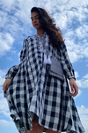 Gloria Checked A Line Dress / Kurta