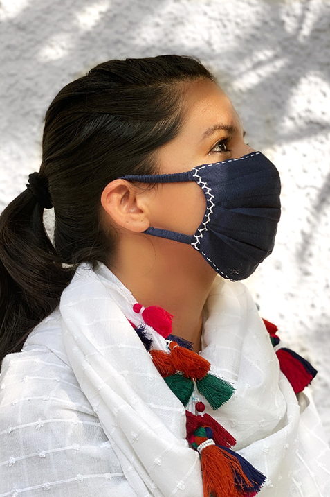 Organic Cotton Face Masks (Pack of 3)