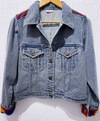 Albela Denim Full Sleeves Jacket - Short