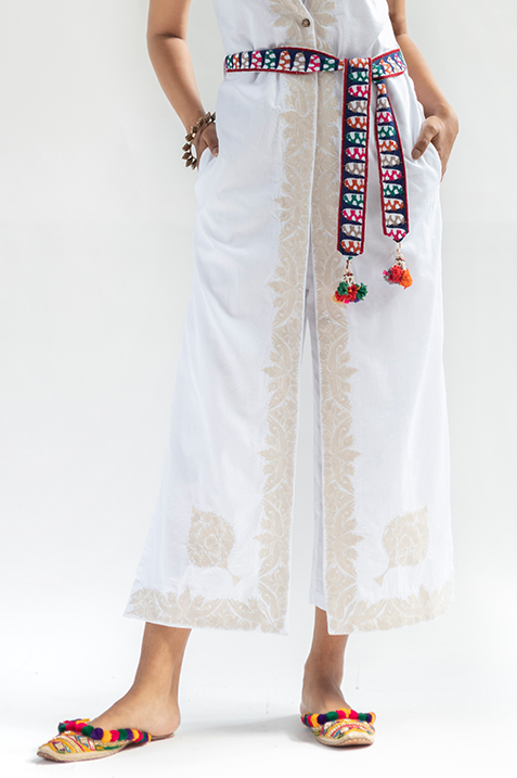 Zoya Embroidered Jumpsuit