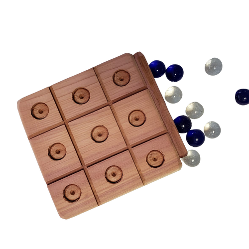 Tic Tac Toe Wood Toy