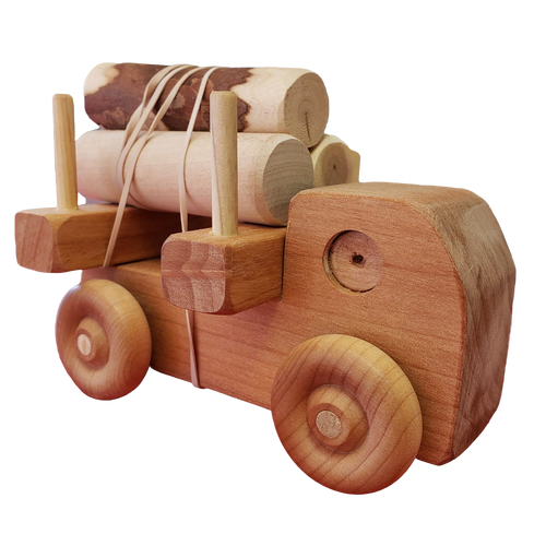 Small Logger Wood Toy