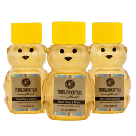 Sweet Clover & Alfalfa Honey Bear