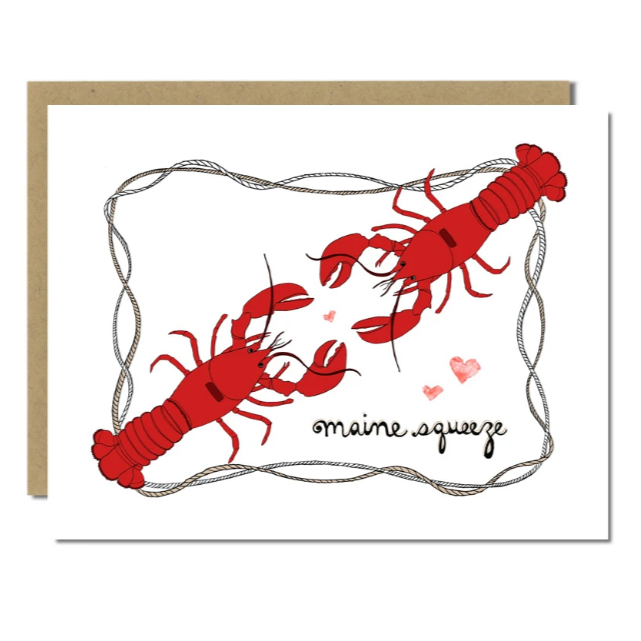 Maine Squeeze Lobster Card