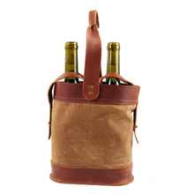 Load image into Gallery viewer, Double Wine Tote