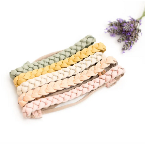 Braided Leather Headbands