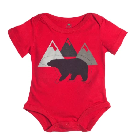 Black Bear Onesie