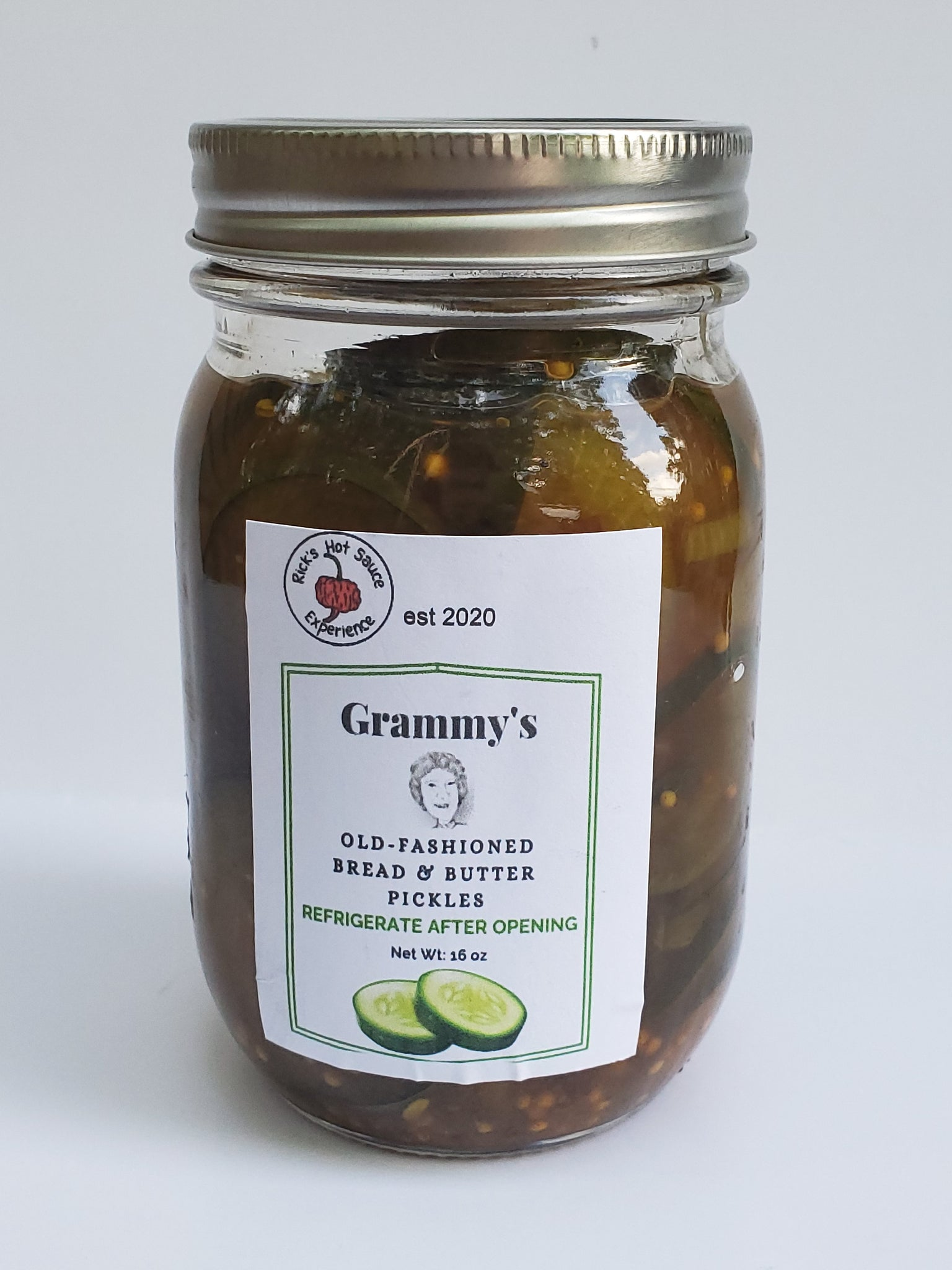 Grammy's Bread & Butter Pickles