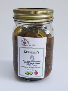 These Ain't Your Grammy's Pickles