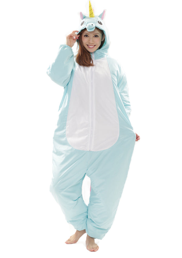 Blue Unicorn Ski Suit