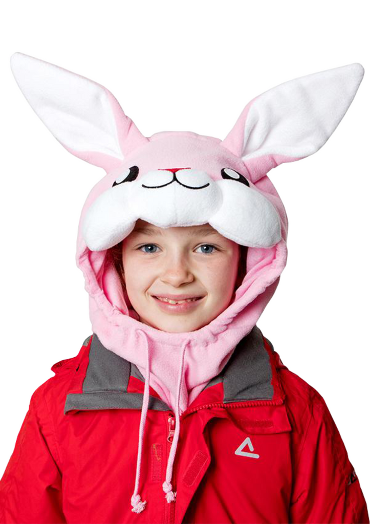Pink Rabbit Neck Warmer