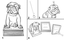 Load image into Gallery viewer, ENGLISH BULLDOG INCENSE CHAMBER