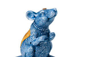 BLUE MOUSE INCENSE BURNER