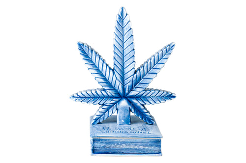 CANNABIS LEAF INCENSE CHAMBER
