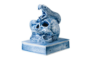 SKELETON SNAKE INCENSE CHAMBER