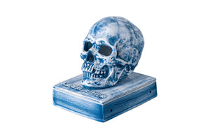HUMAN SKELETON INCENSE CHAMBER