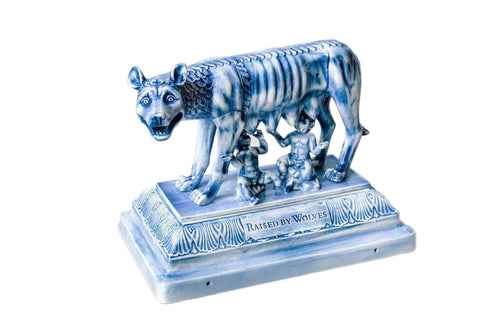 RAISED BY WOLVES X YEENJOY SHE WOLF INCENSE BURNER
