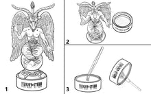 Load image into Gallery viewer, BAPHOMET INCENSE HOLDER