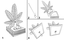 Load image into Gallery viewer, CANNABIS LEAF INCENSE CHAMBER