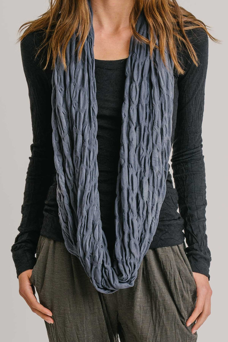 Ruffled Loop scarf