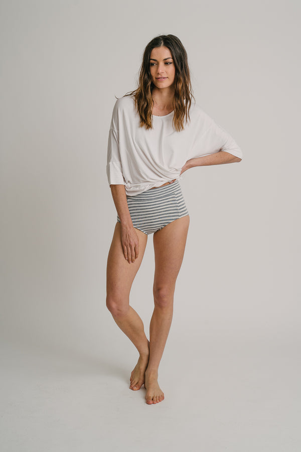Micro Striped Bottoms