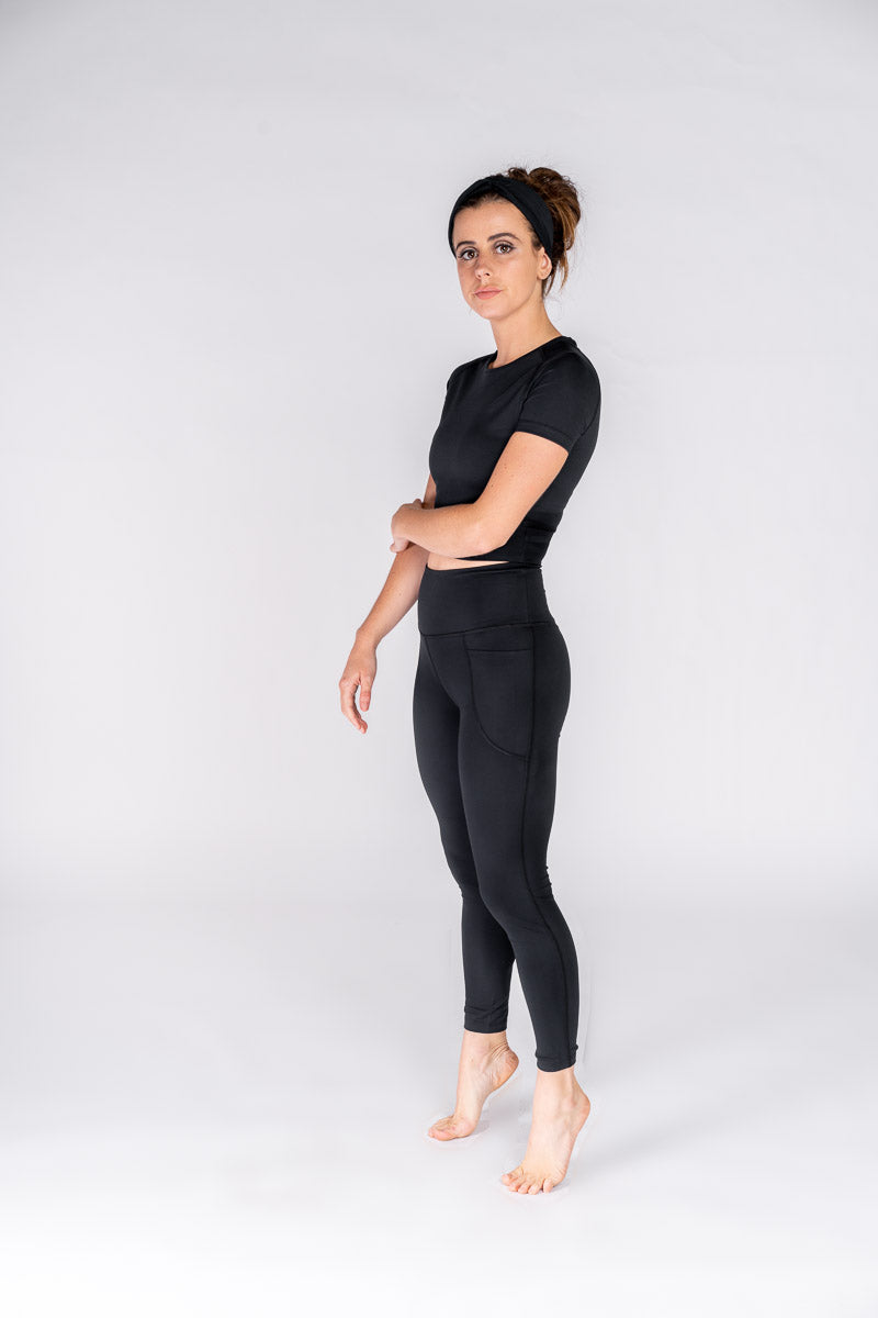 High Rise Anaïs Legging - Black
