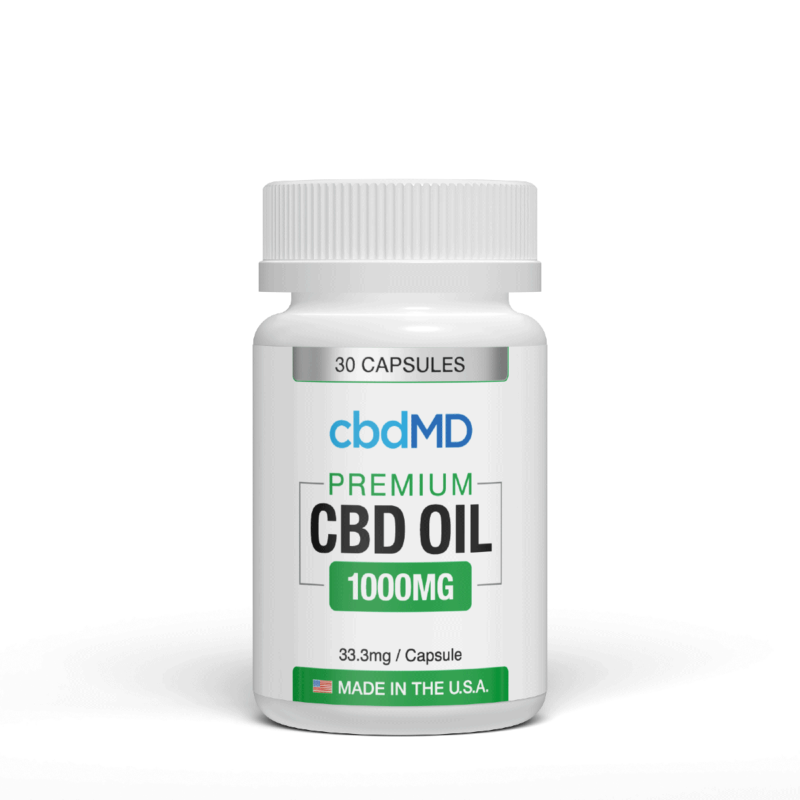CBD Oil Capsules 1000mg