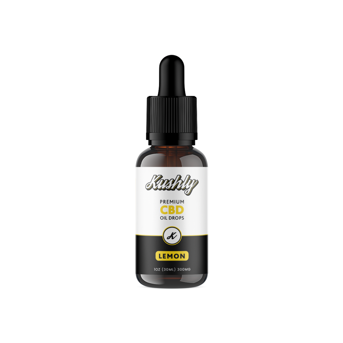 Kushly CBD Oil, Lemon