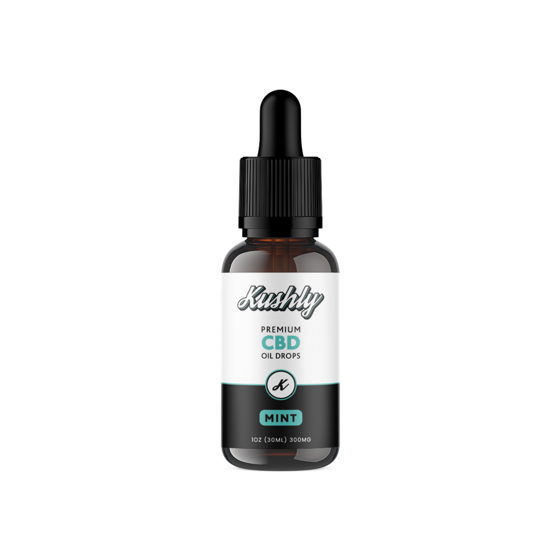 Kushly CBD Oil, Mint