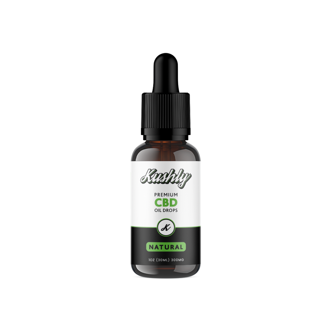 Kushly CBD Oil, Natural
