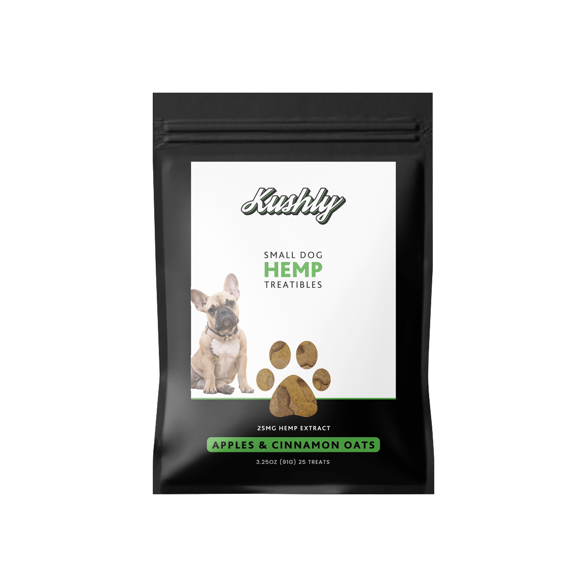 Kushly Hemp Dog Treats (Small Dog)