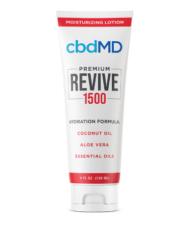 cbdMD Topicals – CBD Revive Moisturizing Lotion, Squeeze