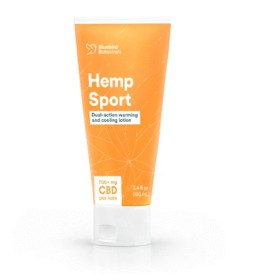 Bluebirdbotanicals Hemp CBD Sport Lotion