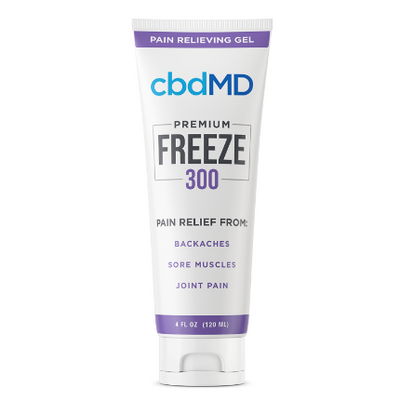 cbdMD Topicals - Freeze Pain Relief