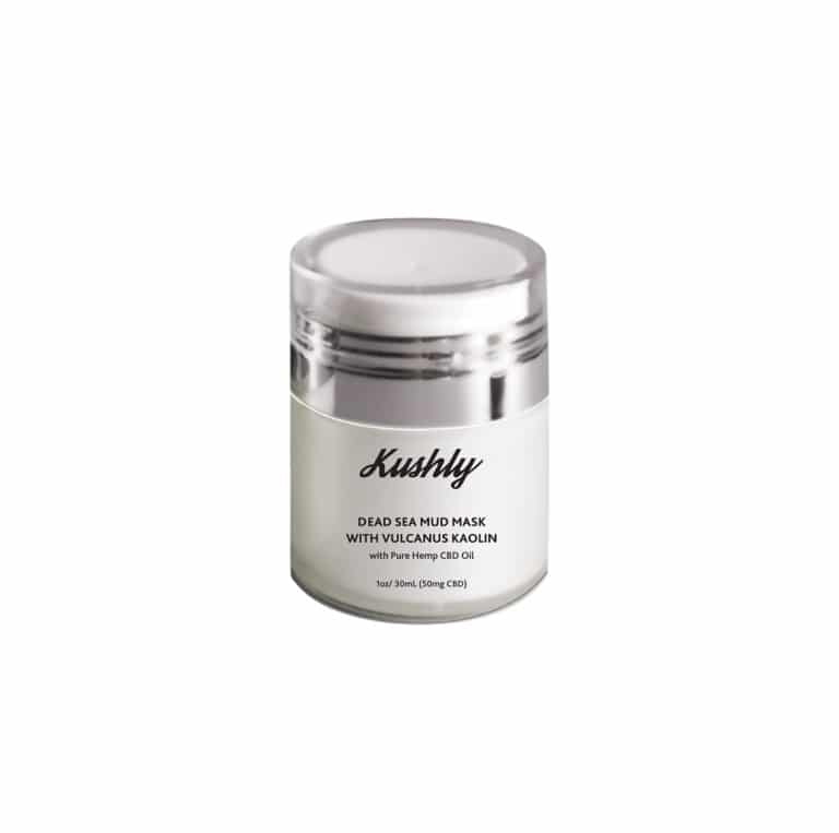 Kushly Dead Sea Mud Mask with Vulcanus Kaolin