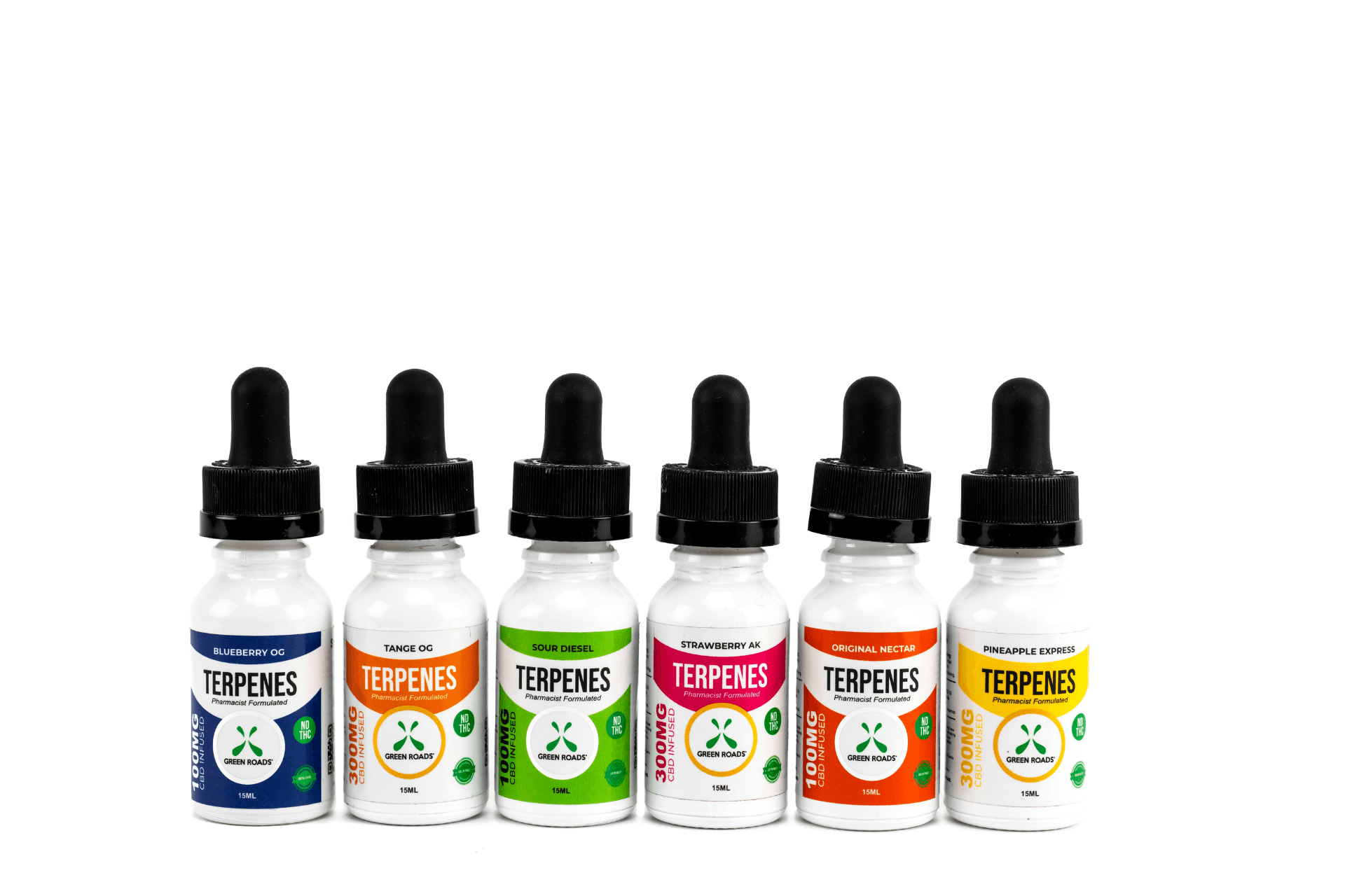 Green Roads CBD Terpenes Oil, 100mg