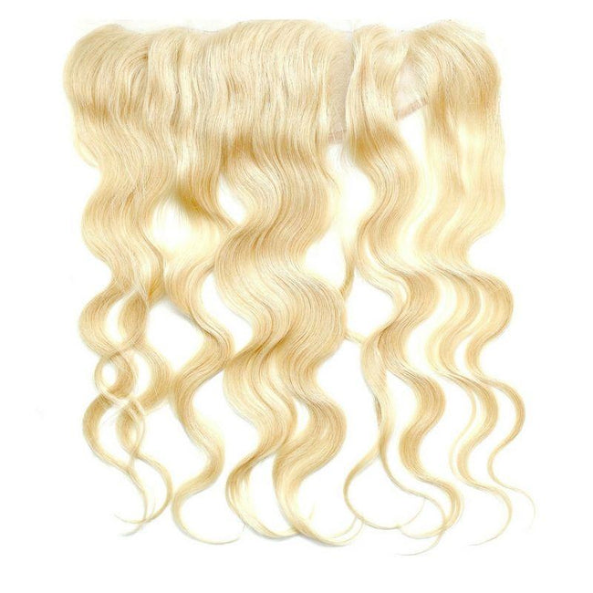 Brazilian Blonde Body Wave Frontal - Client Boss Hair Couture