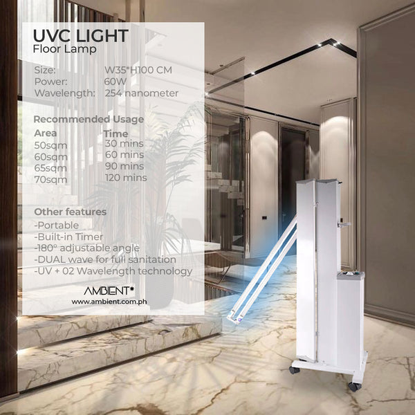 UV Antivirus Floor Lamp Disinfectant - Vinna