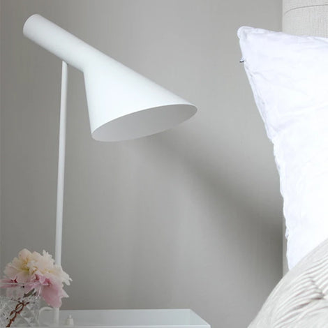 Oscar White Table Lamp