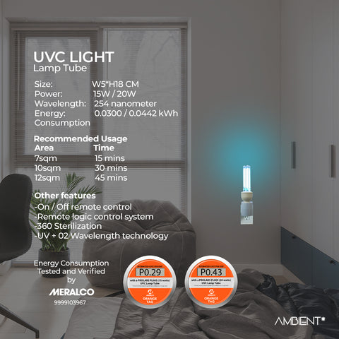 UVC Disinfectant Light Bulb