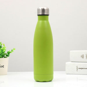 Colorful 500ML Bottle Stainless Steel Water Bottle Sport Thermal Insulation  Drink Bottle For kids Drinkware
