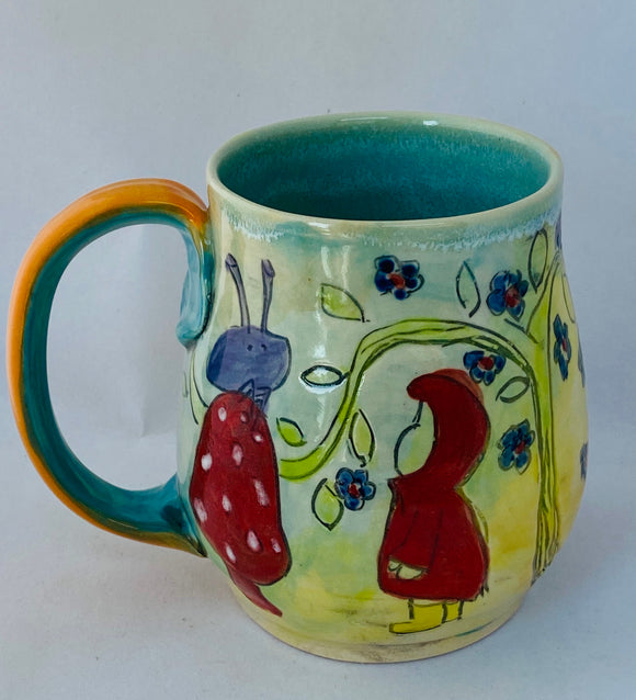 ILLUSTRATED WORLD MUG