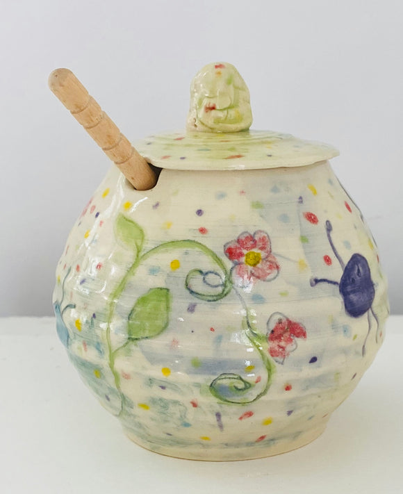 Honey Pot-storage jar