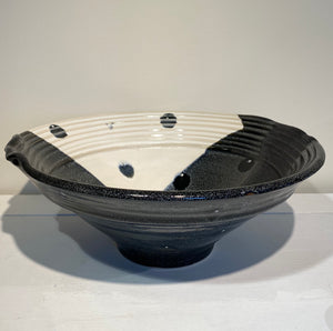 Black n white bowl