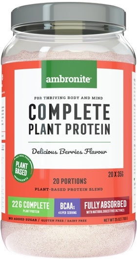 Complete Plant Protein Tub Front