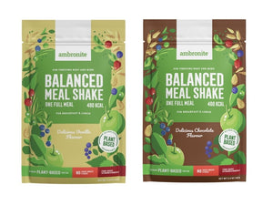 Balanced Meal Shake - 2 Full Meal Pouches