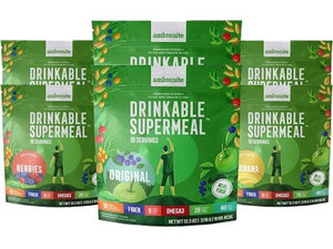 6 Bags of Complete Meal Shake, All Flavors
