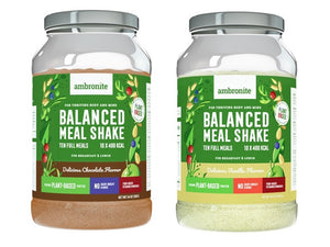 Balanced Meal Shake Chocolate and Vanilla