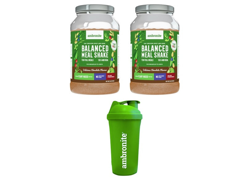 Balanced Meal Shake Chocolate Launch Deals