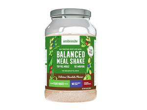 Balanced Meal Shake, Tub (1000g, GF) - Chocolate